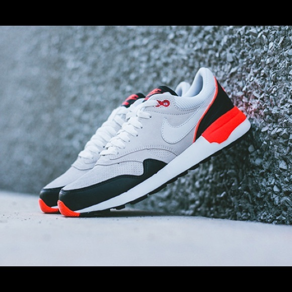 """Nike Air Odyssey LTR """"Infrared"""" J. Crew exclusive"""